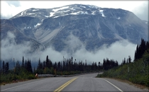 Mountain Klondike Highway Alaska