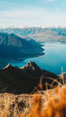 Mountain Ranges of Wanaka New Zealand