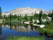 Mountain ReflectionDesolation Wilderness CA