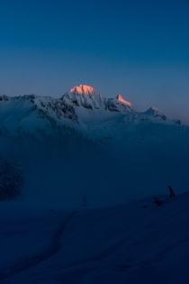 Mountain Sunrise Garibaldi Park BC OC