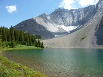 Mountain tarn in Kananaskis Alberta