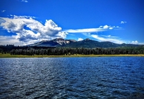 Mountain View from Steamboat Lake - Steamboat Colorado