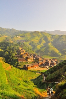 Mountain Village Longsheng China