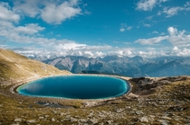 Mountains and Lakes are my favourite dream team This pearl lies hidden high above Belalp Switzerland