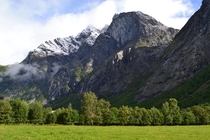 Mountains of Mre og Romsdal Norway