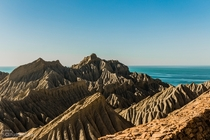 Mountains of the Hingol National Park with the Makran Coast in the Background  By Saifuddin Abbas  x-post rExplorePakistan