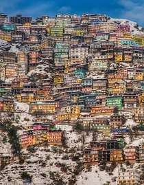 Mountaintop Colonies of Shimla India