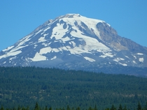 Mt Adams Washington from Conboy Lake National Wildlife Refuge