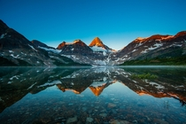 Mt Assiniboine the Canadian Rockies located in British Columbia Photo by Putt Sakdhnagool