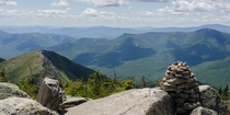 Mt Bond Summit in the White Mountains of New Hampshire OC