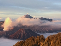 Mt Bromo a volcano in Central Java Indonesia