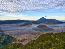 Mt Bromo at sunrise East Java Indonesia