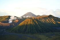 Mt Bromo Java Indonesia - Just after sunrise