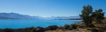 Mt Cook from Lake Pukaki New Zealand