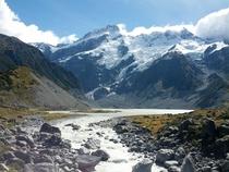 Mt Cook Hooker Valley Trail New Zealand