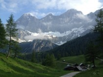 Mt Dachstein  Austria last Saturday before a thunderstorm