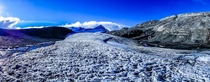 Mt Earnslaw Glacier near Queenstown New Zealand