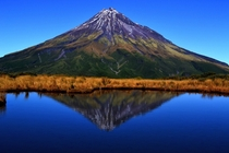 Mt Egmont also known as Taranaki New Zealand  by Marco Grassi