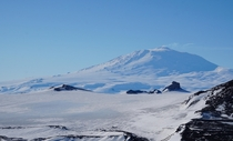 Mt Erebus Ross Island Antarctica The southernmost active volcano in the world