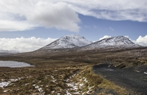 Mt Errigal Ireland Halved by a glacier during the last ice age