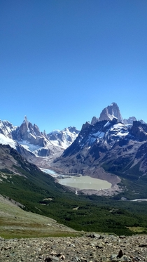 Mt Fitz Roy and Torre El Chaltn Argentina
