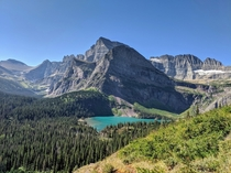 Mt Gould Angel Wing and Grinnell Lake Grinnell Glacier Trail Glacier National Park MT USA Most beautiful place Ive ever seen
