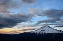 Mt Hood OR feat Mt Adams WA