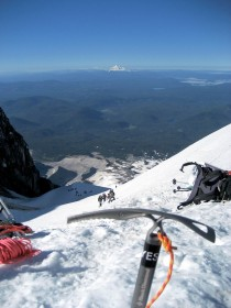 Mt Jefferson from near the summit of Mt Hood this weekend
