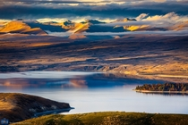 Mt John Lookout - Tekapo Lake New Zealand photo by Sonchai Sriyawong