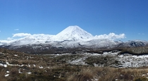 Mt Ngauruhoe Mt Doom in LOTR Tongariro National Park New Zealand OC x