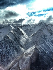 Mt Olympus Canterbury New Zealand  OC -