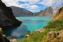 Mt Pinatubo Crater Lake Luzon Philippines  By nucksfan