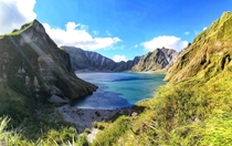 Mt Pinatubo Philippines  Beautiful Disaster OC