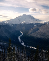 Mt Rainier and the White River Valley WA