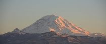 Mt Rainier as seen from my back yard