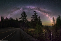 Mt Rainier National Park night skies are beautiful for stargazing and the Milky Way is easily visible to the naked eye