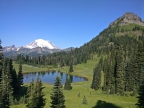 Mt Rainier WA this weekend whilst camping OC x