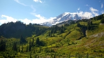 Mt Rainier Washington