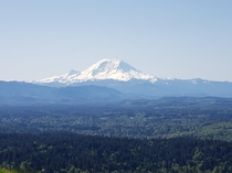 Mt Rainier Washington from Chirico trail