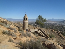 Mt Rubidoux Peace Bridge and Tower Riverside CA