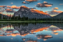 Mt Rundle Banff National Park Alberta  by Scott Bennie