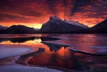 Mt Rundle Banff National Park  photo by Marc Adamus