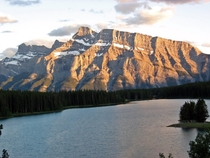 Mt Rundle near Banff