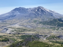Mt Saint Helens WA Taken today at Loowit Viewpoint