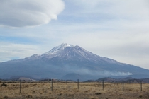 Mt Shasta CA - taken the Wednesday before Thanksgiving