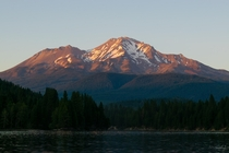 Mt Shasta from Siskiyou Lake