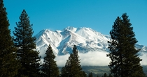 Mt Shasta the jewel of the Siskiyous Weed CA