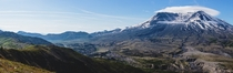 Mt St Helens from Johnston Ridge th Anniversary Visit - Dual-Screen Wallpaper