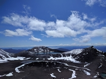 Mt Tongariro Tongariro National Park NZ  x