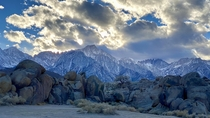 Mt Whitney and the Alabama Hills - Lone Pine CA